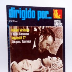 Cine: REVISTA DE CINE DIRIGIDO POR… 44. COSTA GAVRAS / BUÑUEL / FELLINI / TOURNEUR (VVAA), 1977. Lote 133229554