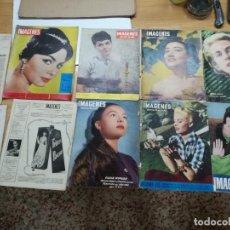 Cine: IMAGENES-LOTE DE 10 REVISTAS DE CINE-IMAGENES-AÑOS 50 Y 60.. Lote 133374298