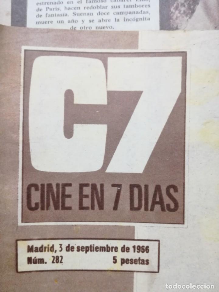 Cine: LOTE DE 10 REVISTAS.CINE EN 7 DIAS. AÑOS 60.VER FOTOS - Foto 3 - 133374478