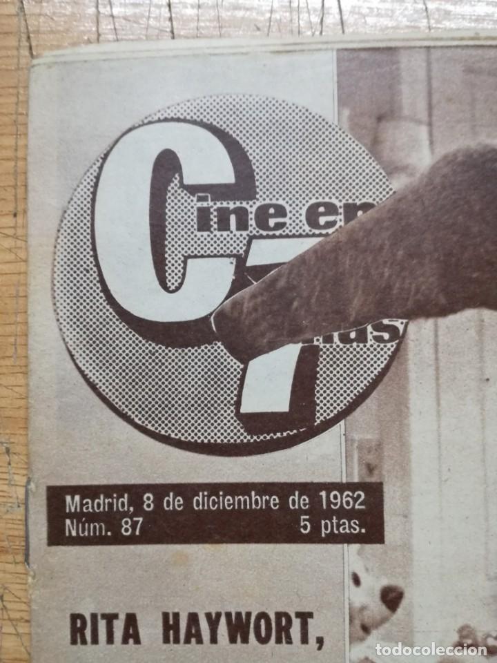 Cine: LOTE DE 10 REVISTAS.CINE EN 7 DIAS. AÑOS 60.VER FOTOS - Foto 15 - 133374478
