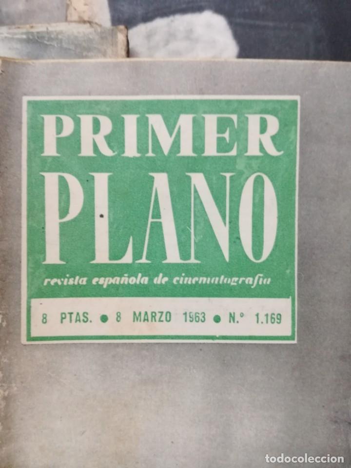 Cine: LOTE DE 10 REVISTAS .PRIMER PLANO.AÑOS 60. - Foto 3 - 133374710