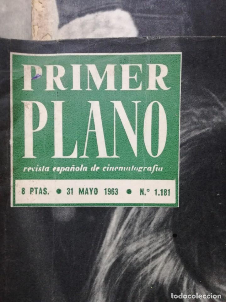Cine: LOTE DE 10 REVISTAS .PRIMER PLANO.AÑOS 60. - Foto 5 - 133374710