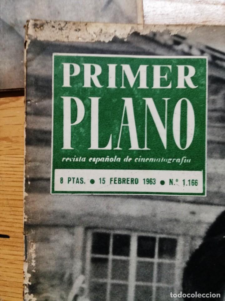 Cine: LOTE DE 10 REVISTAS .PRIMER PLANO.AÑOS 60. - Foto 7 - 133374710