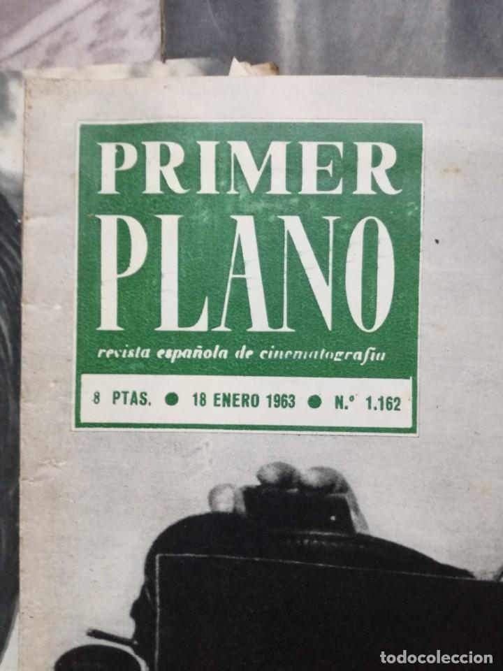 Cine: LOTE DE 10 REVISTAS .PRIMER PLANO.AÑOS 60. - Foto 9 - 133374710