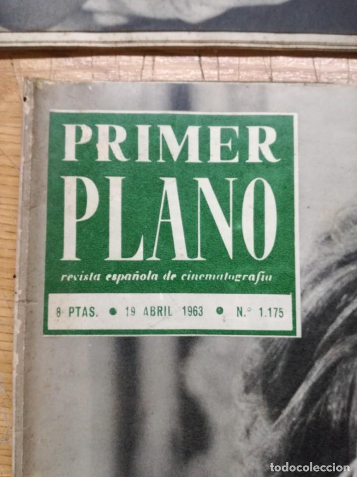 Cine: LOTE DE 10 REVISTAS .PRIMER PLANO.AÑOS 60. - Foto 11 - 133374710