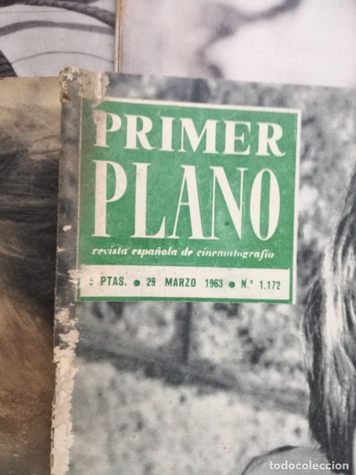 Cine: LOTE DE 10 REVISTAS .PRIMER PLANO.AÑOS 60. - Foto 13 - 133374710
