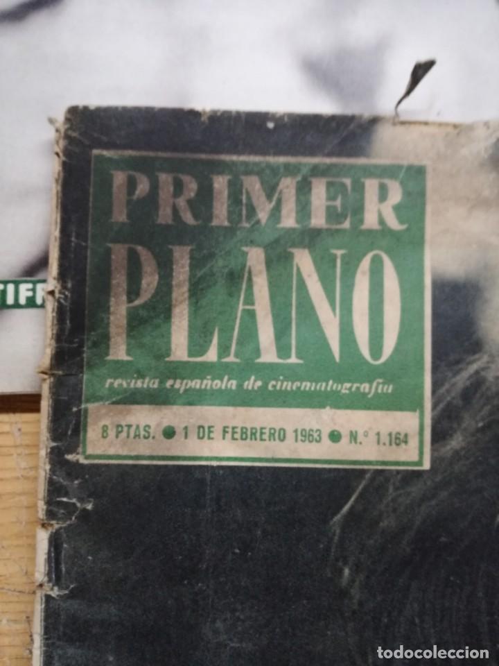 Cine: LOTE DE 10 REVISTAS .PRIMER PLANO.AÑOS 60. - Foto 15 - 133374710
