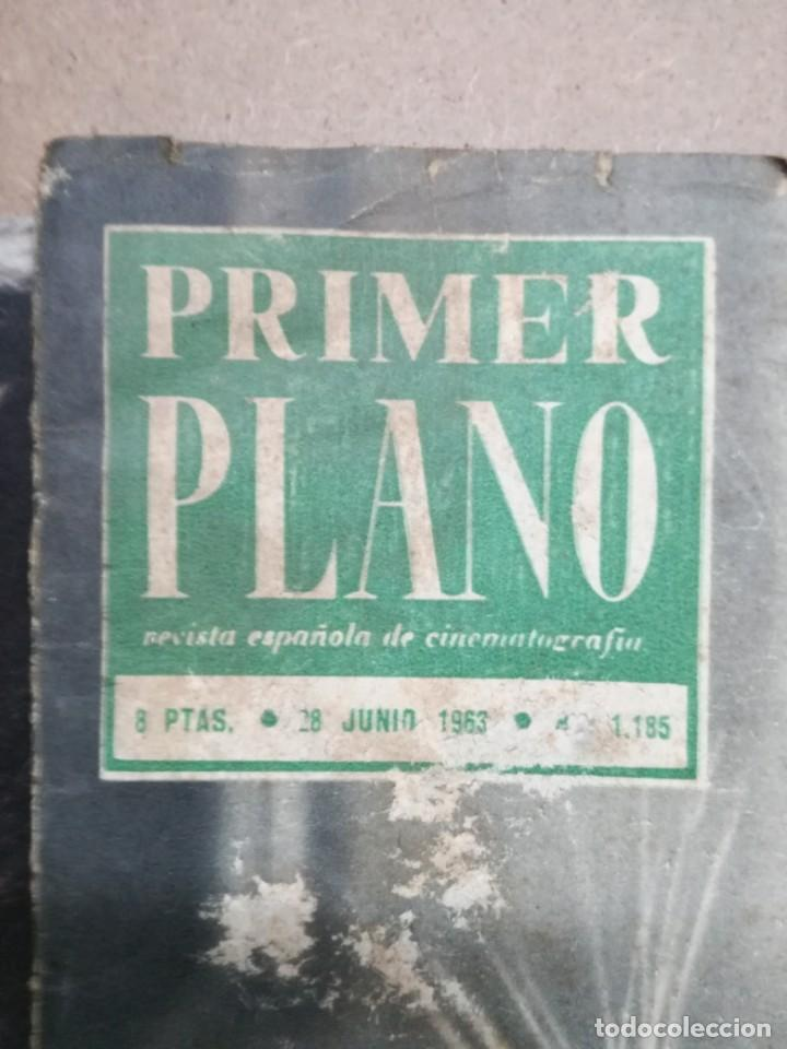 Cine: LOTE DE 10 REVISTAS .PRIMER PLANO.AÑOS 60. - Foto 17 - 133374710