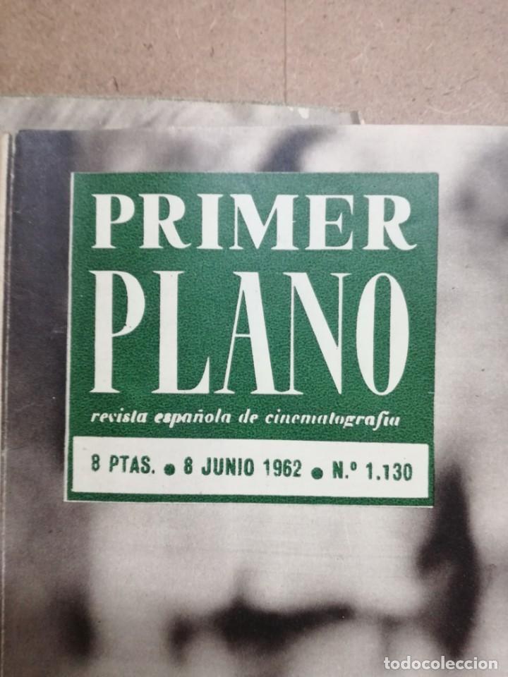 Cine: LOTE DE 10 REVISTAS .PRIMER PLANO.AÑOS 60. - Foto 19 - 133374710