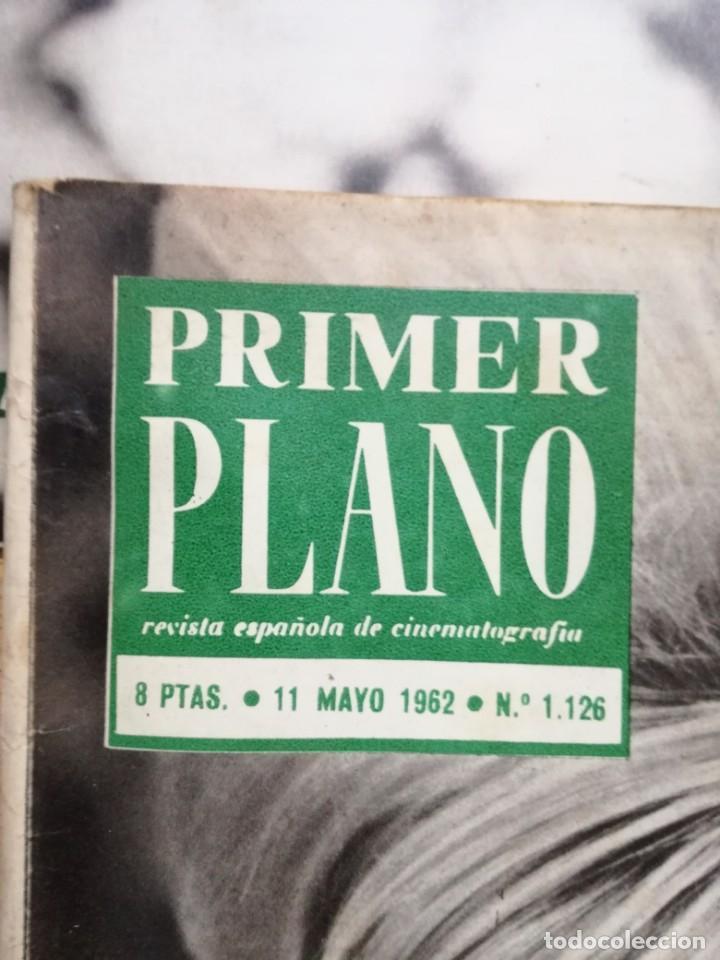 Cine: LOTE DE 10 REVISTAS .PRIMER PLANO.AÑOS 60. - Foto 21 - 133374710