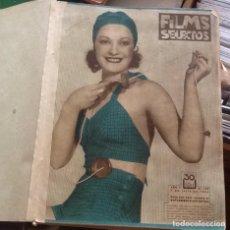 Cine: FILM SELECTOS, LOTE DE 24 EJEMPLARES DEL 195 AL 218 JULIO-DICIEMBRE 1934. Lote 133392010