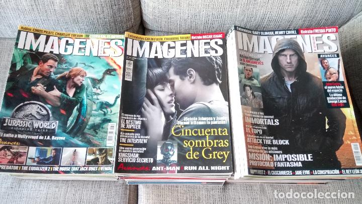 IMAGENES DE ACTUALIDAD LOTE DE 110 NUMEROS (DEL Nº 283 AL 392) (Cine - Revistas - Imágenes de la actualidad)