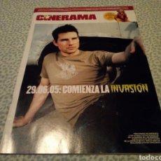 Cine: CINERAMA , JUNIO 2005 , COMIENZA LA INVASIÓN. Lote 133412215