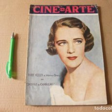 Cine: REVISTA CINE ARTE. AÑO II. NÚMERO 7. MAYO 1934. PORTADA RUBY KEELER.. Lote 133657522