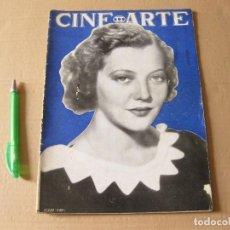 Cine: REVISTA CINE ARTE. AÑO I. NÚMERO 4. JUNIO 1933. PORTADA SILVIA SIDNEY.. Lote 133657694