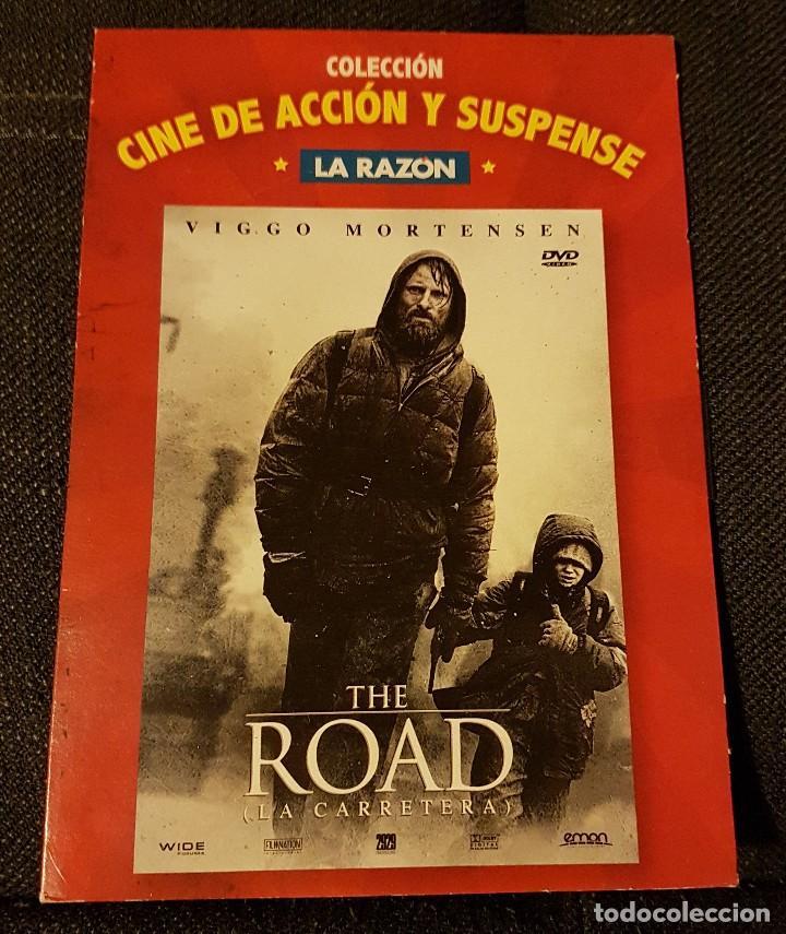 THE ROAD LA CARRETERA . COLECCIÓN CINE DE ACCIÓN Y SUSPENSE LA RAZÓN (Cine - Revistas - Colección grandes películas)