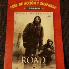 Cine: THE ROAD LA CARRETERA . COLECCIÓN CINE DE ACCIÓN Y SUSPENSE LA RAZÓN. Lote 133677802