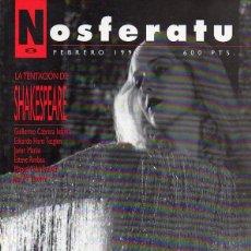 Cine: REVISTA NOSFERATU-Nº 8-SHAKESPEARE. Lote 133953970