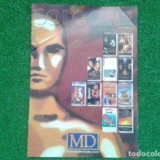 Cine: REVISTA CATALOGO ( SOLO CINE ) MD MOVIES DISTRIBUCION Nº 10 ABRIL 1995 DE 23 PAGINAS. Lote 133970806