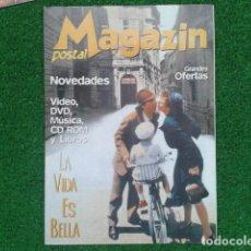 Cine: REVISTA CATALOGO ( MAGAZIN POSTAL ) AÑO 4 Nº 23 MARZO DEL 2000 LA VIDA ES BELLA VER FOTOS. Lote 133971186