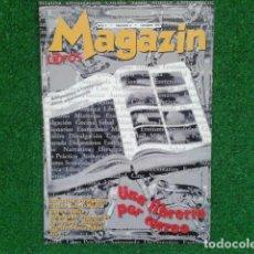 Cine: LOTE 4 REVISTAS CATALOGO ( MAGAZIN LIBROS ) AÑO 1 Nº 1 OCTUBRE 1997 UNA LIBRERIA POR CORREO. Lote 133972062