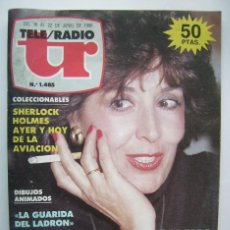 Cine: CONCHA VELASCO E ISABEL PANTOJA. REVISTA TELEPROGRAMA 1986.. Lote 139902016