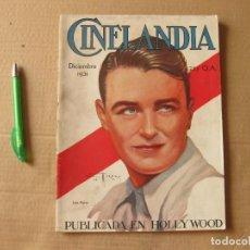 Cine: REVISTA CINELANDIA. DICIEMBRE DE 1931.. Lote 134084498