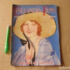Cine: REVISTA CINELANDIA Y FILMS. MAYO DE 1928.. Lote 134084646