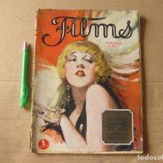 Cine: REVISTA FILMS. FEBRERO DE 1927.. Lote 134085046