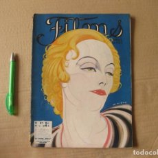 Cine: REVISTA FILMS. ABRIL DE 1927.. Lote 134085178