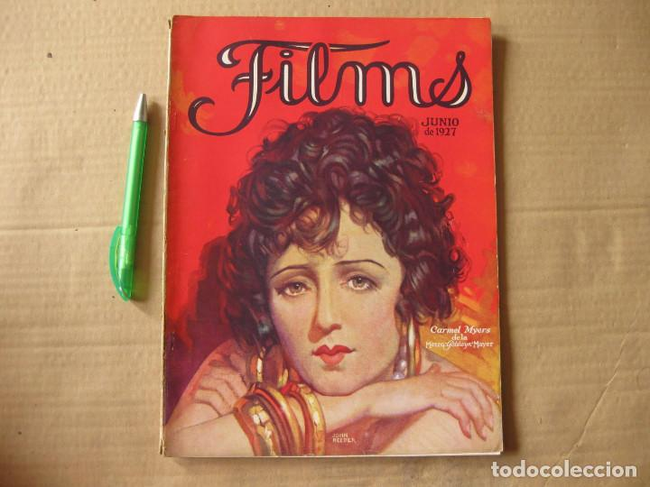 REVISTA FILMS. JUNIO DE 1927. (Cine - Revistas - Cinelandia)
