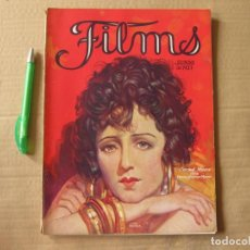 Cine: REVISTA FILMS. JUNIO DE 1927.. Lote 134085282