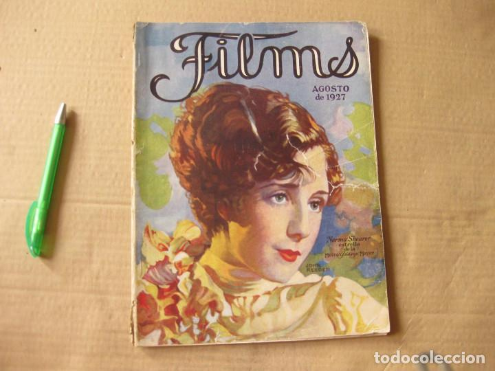 REVISTA FILMS. AGOSTO DE 1927. (Cine - Revistas - Cinelandia)