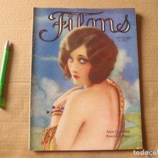 Cinéma: REVISTA FILMS. SEPTIEMBRE DE 1927. JOAN CRAWFORD.. Lote 134085442
