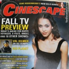 Cine: MAGAZINE: CINESCAPE, NUMERO 9 SEPTIEMBRE/OCTUBRE 2000. Lote 134123142