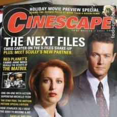 Cine: MAGAZINE: CINESCAPE, NUMERO 11 NOVIEMBRE/DICIEMBRE 2000. Lote 134123242