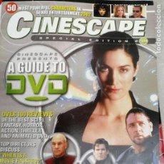 Cine: MAGAZINE: CINESCAPE, NUMERO 4 ABRIL 2002. Lote 134123334