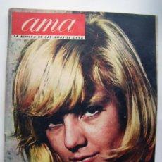 Cine: SYLVIE VARTAN, MARISOL. REVISTA AMA. AÑO 1965.. Lote 134130526