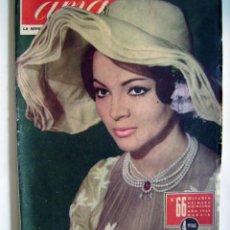 Cine: SARA MONTIEL, IMPERIO ARGENTINA. REVISTA AMA. AÑO 1962.. Lote 134132066