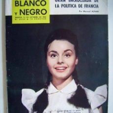 Cine: ROCÍO DURCAL. REVISTA BLANCO Y NEGRO. AÑO 1962.. Lote 134132774