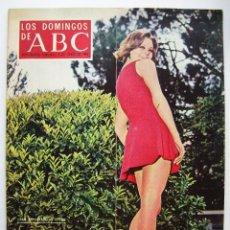 Cine: ROCÍO DURCAL, HISTORIA DEL ATLÉTICO MADRID. REVISTA ABC. AÑO 1969.. Lote 134132914