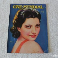Cine: REVISTA CINE MUNDIAL. VOL XVIII Nº 6 JUNIO 1933 - PORTADA KAY FRANCIS. Lote 152132397