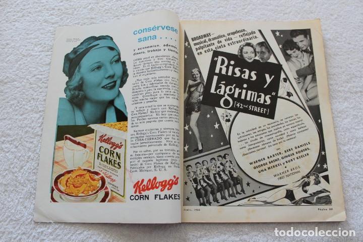 Cine: REVISTA CINE MUNDIAL. VOL XVIII Nº 6 JUNIO 1933 - PORTADA KAY FRANCIS - Foto 3 - 152132397