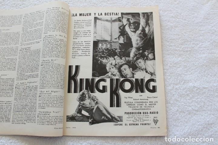 Cine: REVISTA CINE MUNDIAL. VOL XVIII Nº 6 JUNIO 1933 - PORTADA KAY FRANCIS - Foto 4 - 152132397