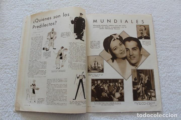 Cine: REVISTA CINE MUNDIAL. VOL XVIII Nº 6 JUNIO 1933 - PORTADA KAY FRANCIS - Foto 5 - 152132397