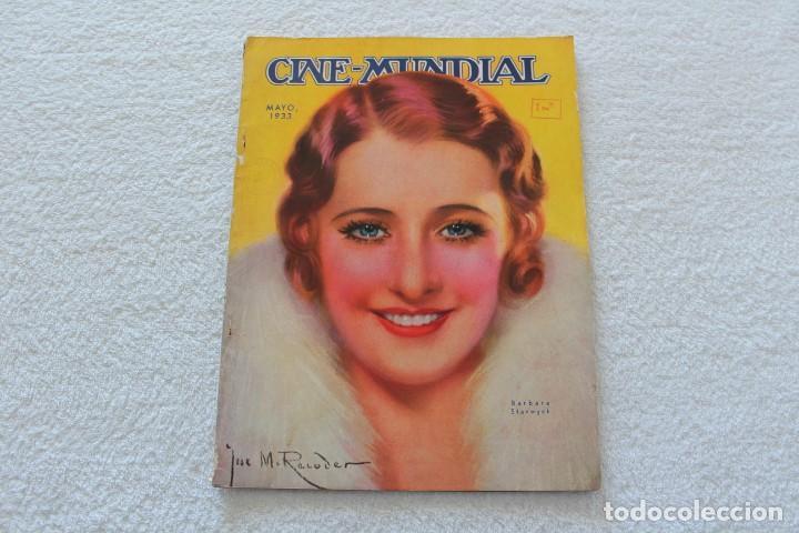 REVISTA CINE MUNDIAL. VOL XVIII Nº 5 MAYO 1933 - PORTADA BARBARA STANWYCK (Cine - Revistas - Cine Mundial)