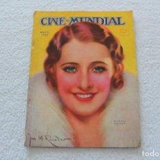 Cine: REVISTA CINE MUNDIAL. VOL XVIII Nº 5 MAYO 1933 - PORTADA BARBARA STANWYCK. Lote 134317662
