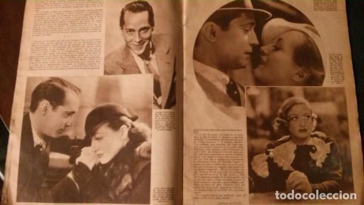 Cine: REVISTA CINEGRAMAS Nº 34-1935-MADELEINE CARROLL-DOLORES DEL RIO - Foto 4 - 134440910