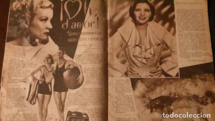 Cine: REVISTA CINEGRAMAS Nº 34-1935-MADELEINE CARROLL-DOLORES DEL RIO - Foto 5 - 134440910