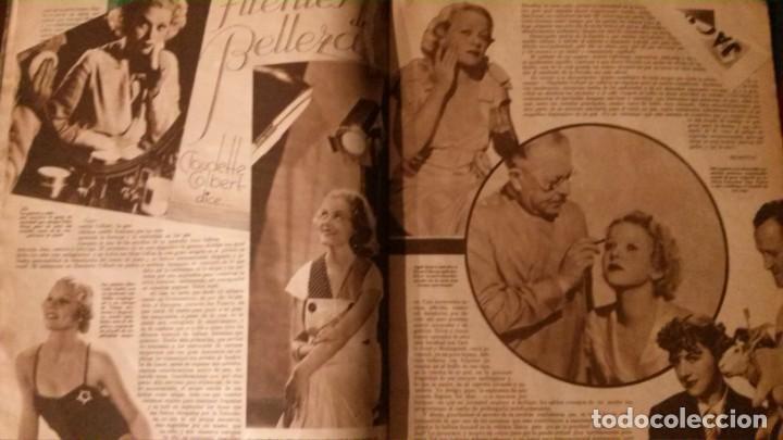 Cine: REVISTA CINEGRAMAS Nº 34-1935-MADELEINE CARROLL-DOLORES DEL RIO - Foto 7 - 134440910